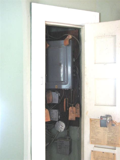 a electrical work in a closet ecn