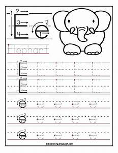 learning to write worksheets for kindergarten free With learning to print letters