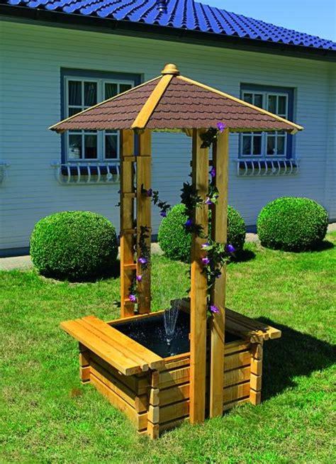 puit de jardin port offert syma mobilier jardin puit decoratif bois