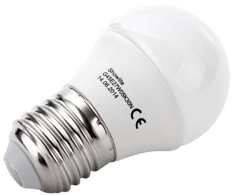 showlite led bulb g45e27w05k30n 5 watts 300 lumens e27