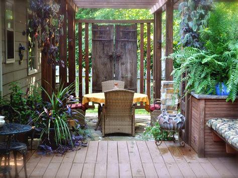backyard privacy ideas hgtv