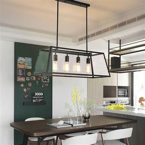 large chandelier lighting bar glass pendant light kitchen