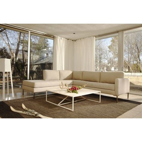 Modern sectional sofas require a matching coffee table to welcome the guests. Strut Square Coffee Table (With images) | Modern sofa sectional, Coffee table square, Coffee table