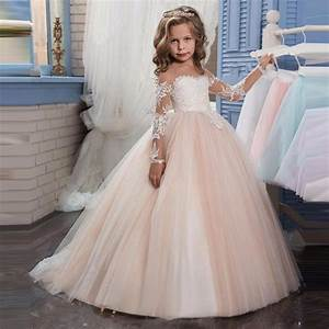 Summer Girls Floral Princess Party Dress Girl Evening