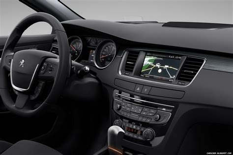 peugeot 508 interior new peugeot 508 first pictures and details autotribute
