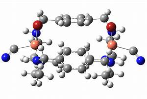 Figure S19   Optimized Structure Of Two Cyanide Ions  Each Bound To A