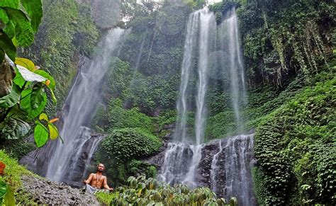 sekumpul waterfall trek  bali thrillophilia