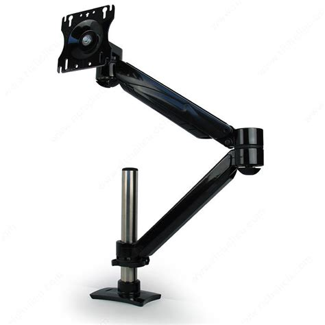 desk mount arm for flat panel monitor single arm lcd flat panel desk mount single screen