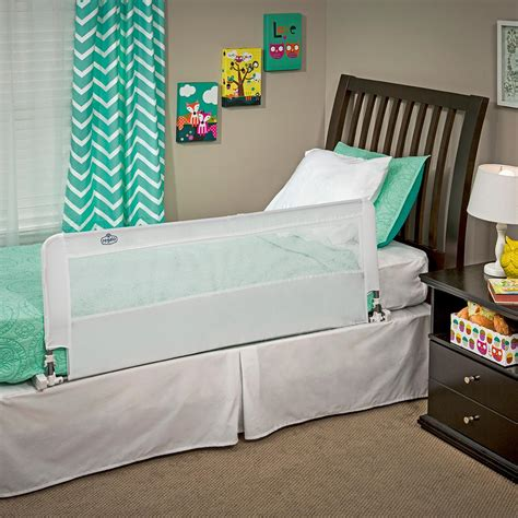 amazon com regalo hide away extra long bed rail white