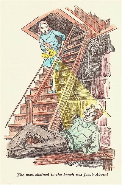 Illustrations Books Nancy Drew Spanking Colored Series
