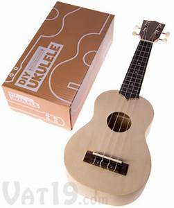 My Ukulele Kit: Build your own DIY ukulele in a matter of