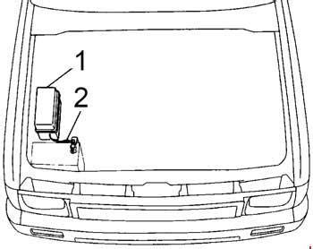 Toyota Hilux Pickup Fuse Box Diagram