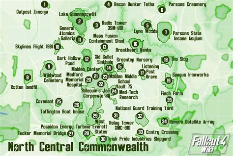 north central commonwealth fallout  wiki