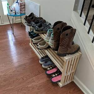 Shitty, Shoe, Rack, Joints, Are, Uneven, Wood, Glue, Everywhere, And, Way, Too, Thin, For, Proper, Shoe