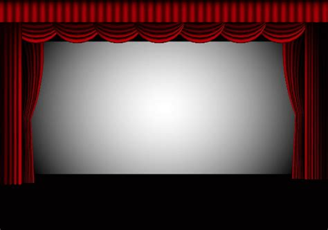 create an theater interior with illustrator