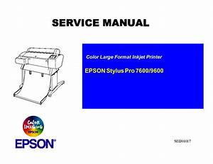 Epson Stylus Photo Rx585 595 610 Service Manual Free