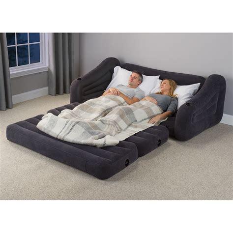Sleeper Sofa Bed Size by The Size Sleeper Sofa Hammacher Schlemmer