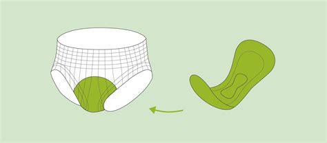 inkontinenzvorlagen netzhosen fixierhosen  anwendung
