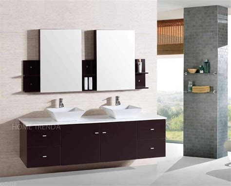 Wall Mount Floating 72 Inch Double Sink Bathroom Vanity