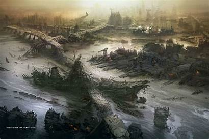 Fallout Concept Prydwen Uss Riptide River Charles