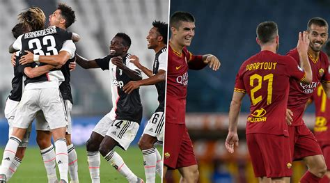 Juventus vs AS Roma, Serie A 2019–20 Free Live Streaming ...