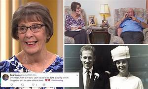 Gogglebox widow June Bernicoff reminisces about late ...