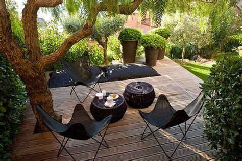 idees deco terrasse  ambiances en images jardin