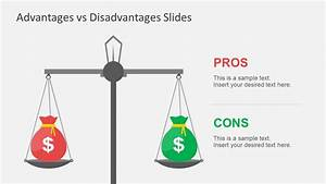 Advantages vs disadvantages powerpoint template for Powerpoint theme vs template