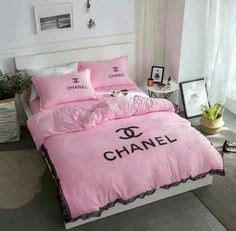 chanel inspired bedding set fitted sheet   madewithlovebylisae  future home