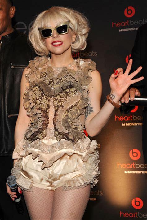 Lady Gaga Leather Band Quartz Watch  Lady Gaga Watches Looks Stylebistro