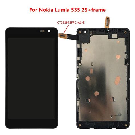 for nokia lumia 535 n535 rm 1090 2c 2s version lcd display
