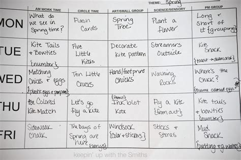 preschool lesson plans for spring 12 best images of perpetual preschool themes lesson plans 496