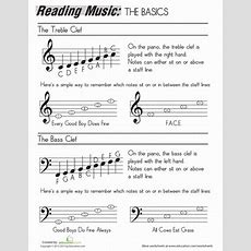 How To Read Music  Worksheet Educationcom
