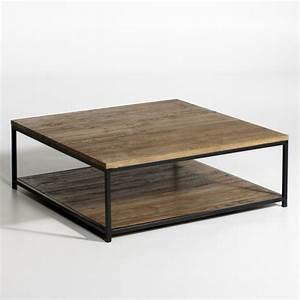 Table Basse Industrielle La Redoute Maison Design