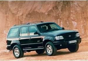Fiche technique Ford BRONCO/EXPL Explorer 4.0i V6 A 1998