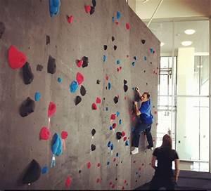Rock climbing wall in the Adobe Lehi office – Adobe Life