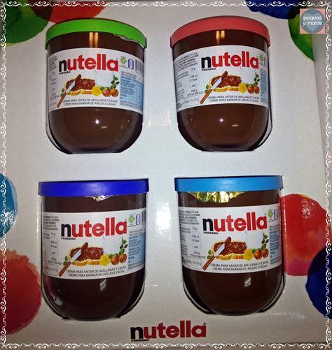 Vaso Nutella Pequesymamis Nueva Colecci 243 N De Vasos De Nutella
