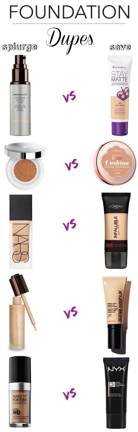 best drugstore light coverage foundation splurge vs save 10 amazing foundation dupes foundation