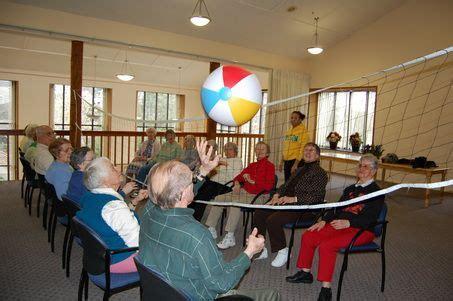 beach ball volleyball  hit  senior citizens summer