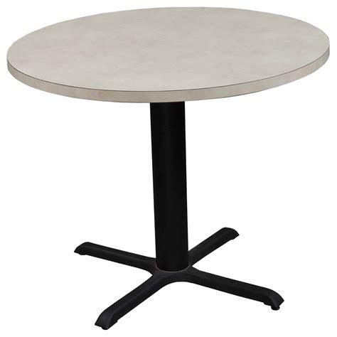 Herman Miller Used 36 Inch Round Laminate Table, Creme