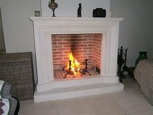 Cheminée à Foyer Ouvert : cheminee avec foyer ouvert ~ Premium-room.com Idées de Décoration