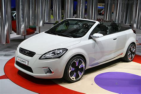 kia  cee  cabrio concept car  catalog