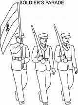Soldier Drawing Republic Parade Coloring India Flag Saluting Pages Sketches Indian Independence Getdrawings January Greek Studyvillage sketch template