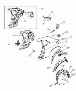 Dodge Challenger Panel  Wheelhouse  Right