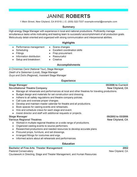 Supervisor Resume Templates by Supervisor Resume Sle Supervisor Resumes Livecareer