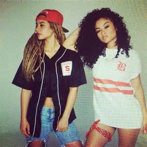 India Westbrooks and Crystal