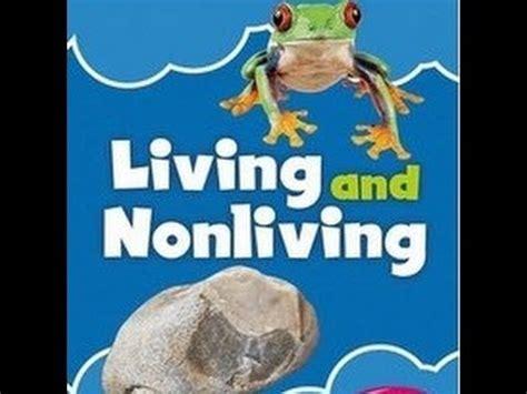living  nonliving  lesson  kids youtube