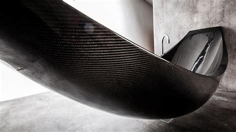 carbon fiber bathtub this carbon fiber hammock bathtub is the epitome of
