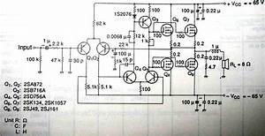 100 Watt Mosfet Amplifier Circuit Diagram