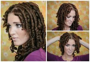 Curly Hairstyle Hair Tutorial